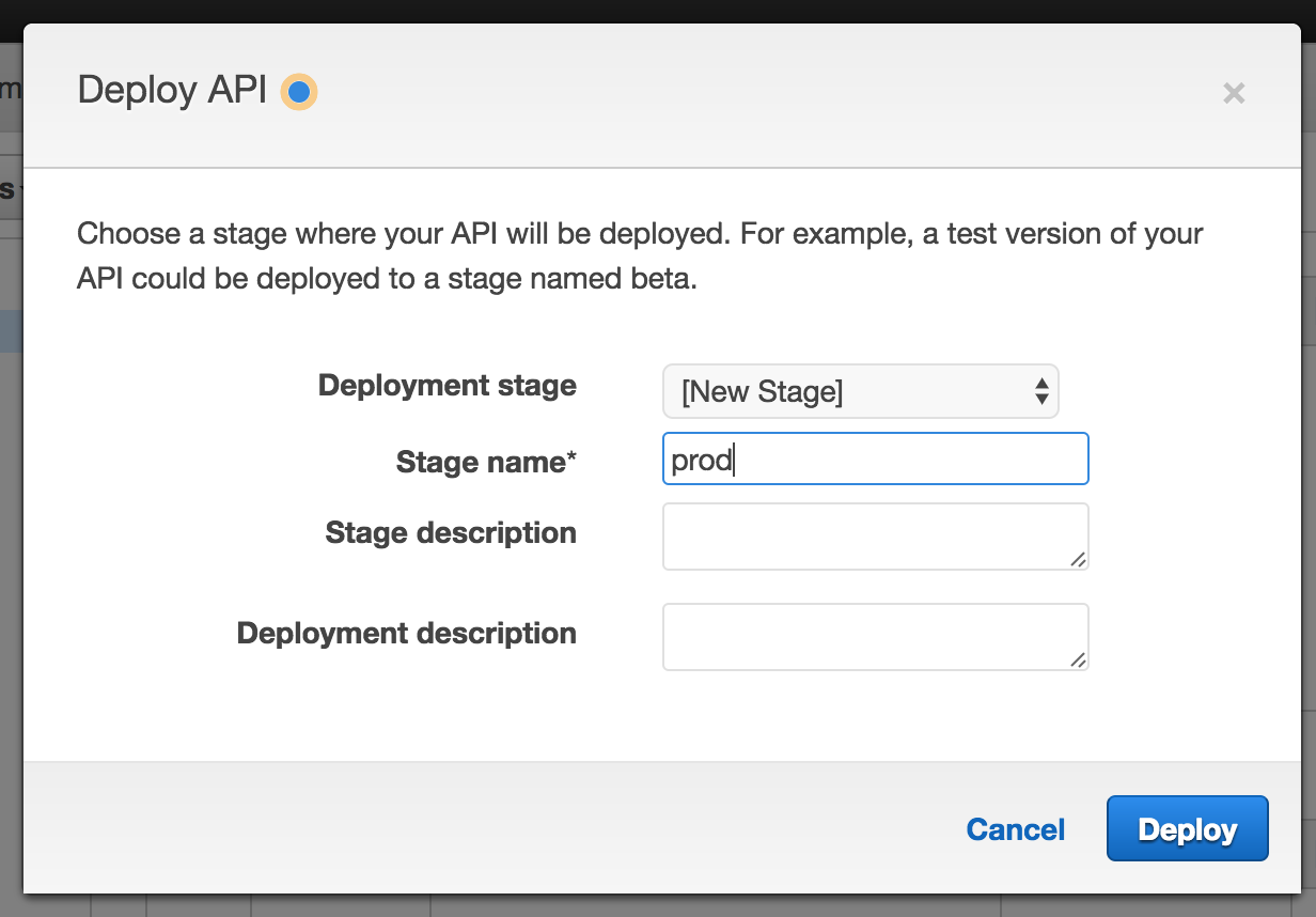 Launch Go in AWS Lambda - Slack slash command example